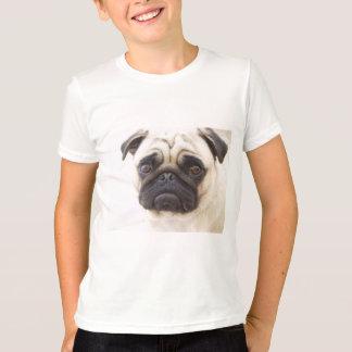 Le T-shirt de l'enfant de chien de carlin