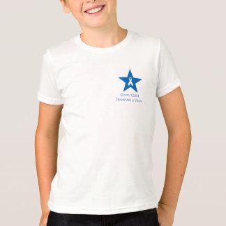 Le T-shirt de l'enfant de conscience d'apraxie