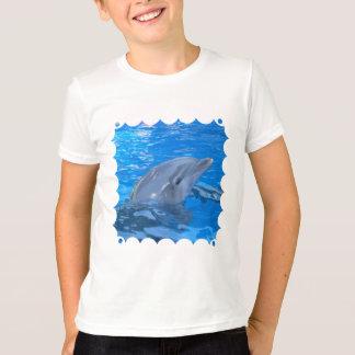 Le T-shirt de l'enfant de dauphin de Bottlenose