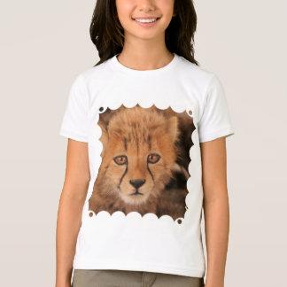 Le T-shirt de l'enfant de guépard de bébé