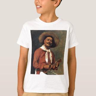 """Le T-shirt de l'enfant """"de Troubadour hawaïen"""" -"""