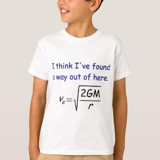 Le T-shirt de l'enfant de vitesse de libération