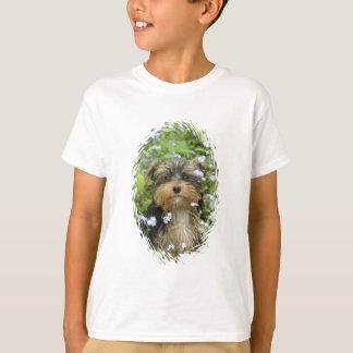 Le T-shirt de l'enfant de York Terrier