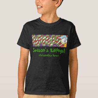 Le T-shirt de l'enfant d'Eatings de la saison de