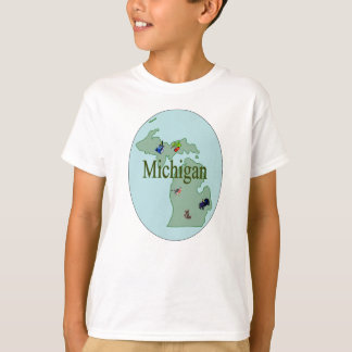Le T-shirt de l'enfant du Michigan