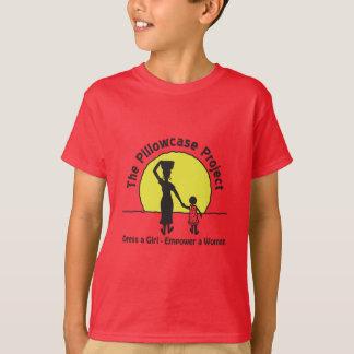 Le T-shirt de l'enfant - rouge