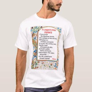 Le T-shirt de l'homme de prière de Noël (Donald