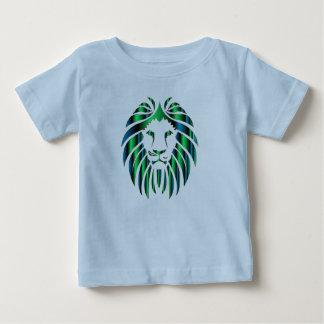 Le T-shirt de lion de l'enfant en bas âge coloré