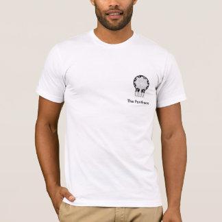 Le T-shirt de logo de côté de Panthéon