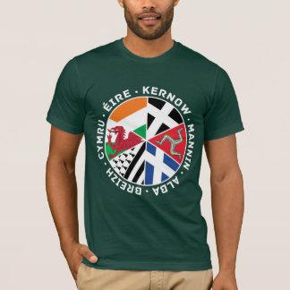 Le T-shirt de nations des hommes celtiques de