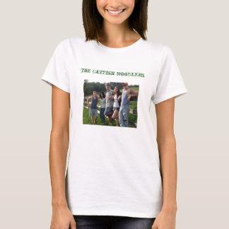 Le T-shirt de Noodlers de poisson-chat
