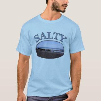 Le T-shirt de plage des hommes salés de bon à rien