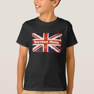 Le T-shirt de PLUS d'enfant d'Union Jack BRITPOP