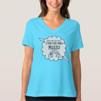 """Le T-shirt de professeurs de musique """"ce qui est"""