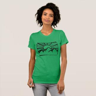 Le T-shirt de Rodney Ridge de montagne des femmes