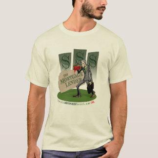 Le T-shirt de société de prêt immobilier (lumière)