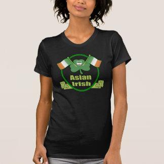 Le T-shirt de St Patrick asiatique d'Irlandais