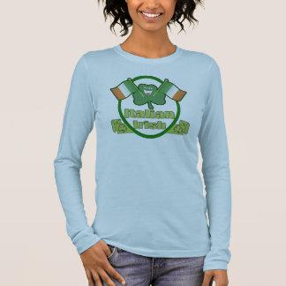 Le T-shirt de St Patrick italien d'Irlandais