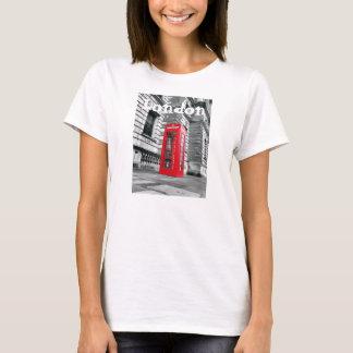Le T-shirt de téléphone de Londres des femmes