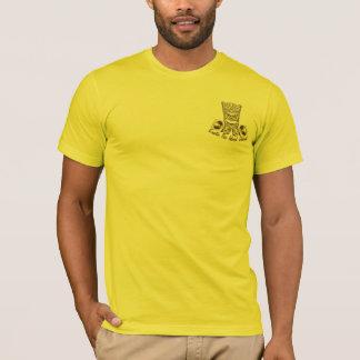 Le T-shirt de Tiki d'île des hommes exotiques de