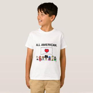 Le T-shirt de tout l'enfant américain