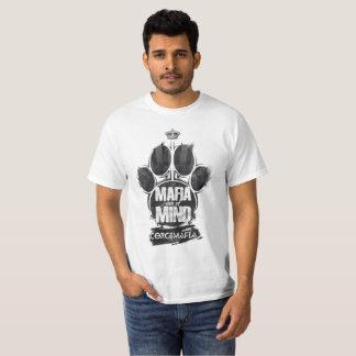 Le T-shirt d'empreinte de patte de Mafia