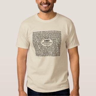 Le T-shirt des 10èmes hommes de l'anniversaire de