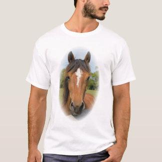 Le T-shirt des beaux de cheval de tête de