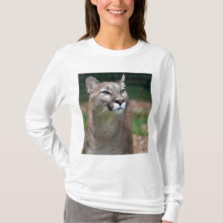 Le T-shirt des belles femmes de photo de puma