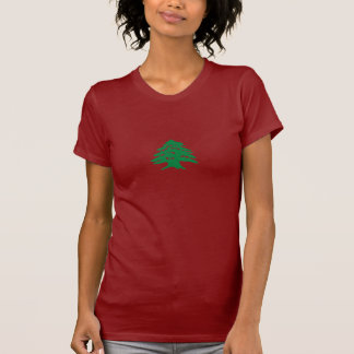 le T-shirt des dames - cèdre libanais