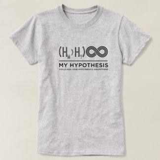 Le T-shirt des dames d'hypothèse