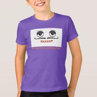 Le T-shirt des enfants colorés de jour de BBSS
