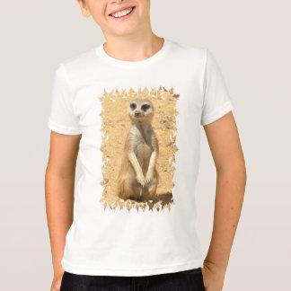 Le T-shirt des enfants curieux de Meerkat