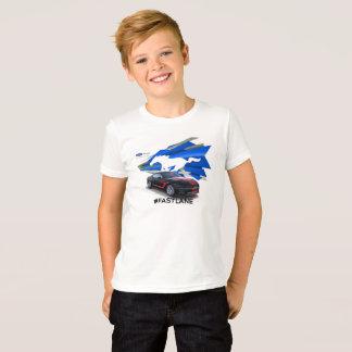 Le T-shirt des enfants d'adaptateur de mustang