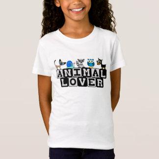 Le T-shirt des enfants d'amoureux des animaux