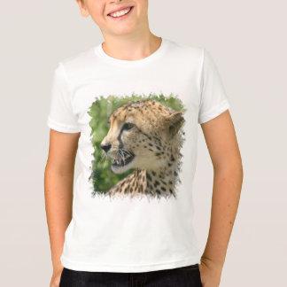 Le T-shirt des enfants d'attaque de guépard