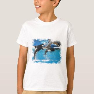 Le T-shirt des enfants de baleines d'orque
