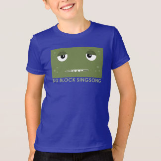 Le T-shirt des enfants de lingot de BBSS