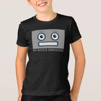 Le T-shirt des enfants de robot de BBSS