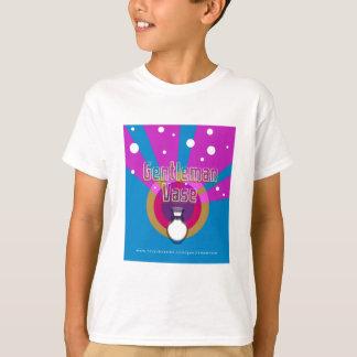 Le T-shirt des enfants de vase à monsieur
