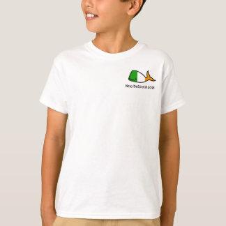 Le T-shirt des enfants irlandais de baleine