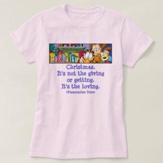 Le T-shirt des femmes affectueuses de vacances de