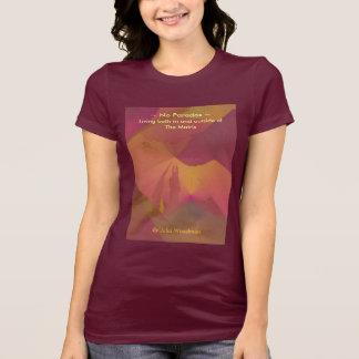 Le T-shirt des femmes : Aucun art de coucher du