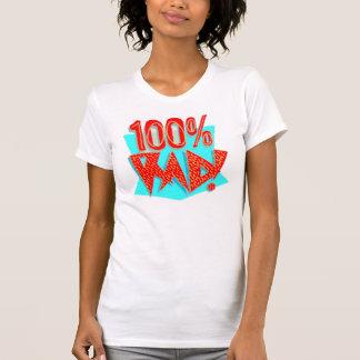Le T-shirt des femmes, blanc, 100% rad ! Rétro
