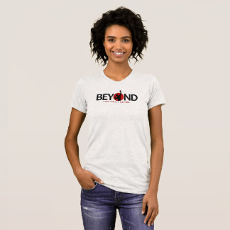 Le T-shirt des femmes classiques de BTNL (gris de