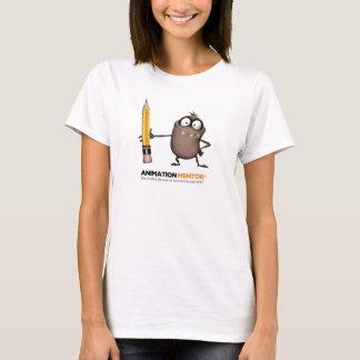 Le T-shirt des femmes classiques de transitoire -