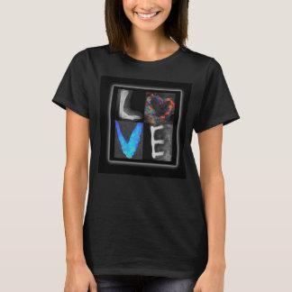 Le T-shirt des femmes d'amour