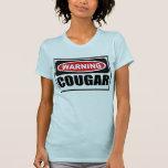 Le T-shirt des femmes d'avertissement de PUMA