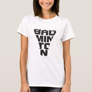 Le T-shirt des femmes de badminton