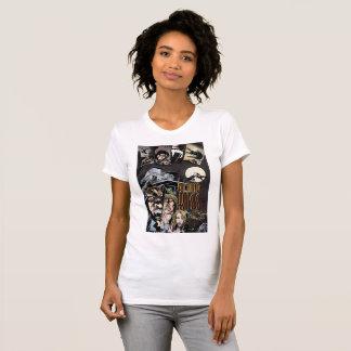 Le T-shirt des femmes de baiser de sang avec